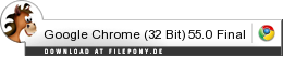 Download Google Chrome (32 Bit) bei Filepony.de