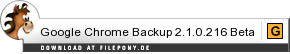 Download Google Chrome Backup bei Filepony.de