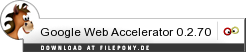 Download Google Web Accelerator bei Filepony.de