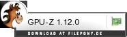 Download GPU-Z bei Filepony.de