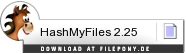 Download HashMyFiles bei Filepony.de