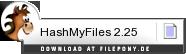 Download HashMyFiles bei Filepony.de