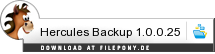 Download Hercules Backup bei Filepony.de