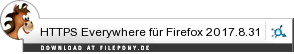 Download HTTPS Everywhere für Firefox bei Filepony.de
