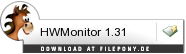 Download HWMonitor bei Filepony.de