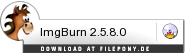 Download ImgBurn bei Filepony.de
