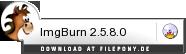 Download ImgBurn bei Filepony.de