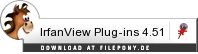 Download IrfanView Plug-ins bei Filepony.de