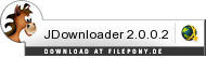 Download JDownloader bei Filepony.de