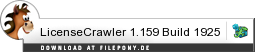 Download LicenseCrawler bei Filepony.de
