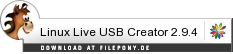 Download Linux Live USB Creator bei Filepony.de