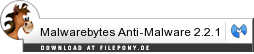 Download Malwarebytes Anti-Malware bei Filepony.de