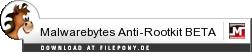 Download Malwarebytes Anti-Rootkit BETA bei Filepony.de