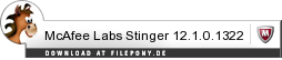 Download McAfee Labs Stinger bei Filepony.de