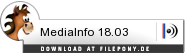 Download MediaInfo bei Filepony.de