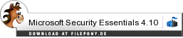 Download Microsoft Security Essentials bei Filepony.de