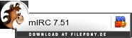 Download mIRC bei Filepony.de