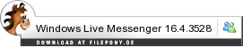 Download Windows Live Messenger bei Filepony.de