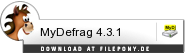 Download MyDefrag bei Filepony.de