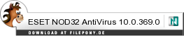 Download ESET NOD32 AntiVirus bei Filepony.de