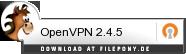 Download OpenVPN bei Filepony.de
