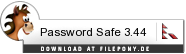 Download Password Safe bei Filepony.de