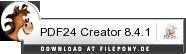 Download PDF24 Creator bei Filepony.de