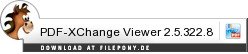 Download PDF-XChange Viewer bei Filepony.de
