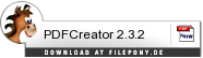 Download PDFCreator bei Filepony.de