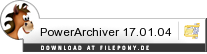 Download PowerArchiver bei Filepony.de