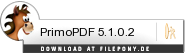 Download PrimoPDF bei Filepony.de