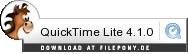 Download QuickTime Lite bei Filepony.de