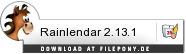 Download Rainlendar bei Filepony.de