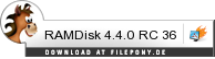 Download RAMDisk bei Filepony.de