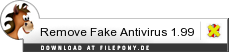 Download Remove Fake Antivirus bei Filepony.de