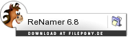 Download ReNamer bei Filepony.de