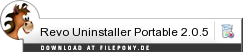 Download Revo Uninstaller Portable bei Filepony.de