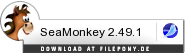 Download SeaMonkey bei Filepony.de