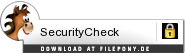 Download SecurityCheck bei Filepony.de