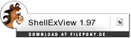 Download ShellExView bei Filepony.de