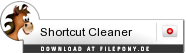 Download Shortcut Cleaner bei Filepony.de