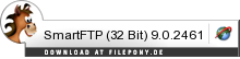 Download SmartFTP (32 Bit) bei Filepony.de
