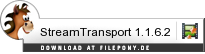 Download StreamTransport bei Filepony.de