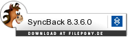 Download SyncBack bei Filepony.de