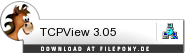 Download TCPView bei Filepony.de
