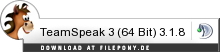 Download TeamSpeak 3 (64 Bit) bei Filepony.de