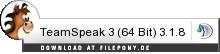 Download TeamSpeak bei Filepony.de