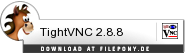 Download TightVNC bei Filepony.de