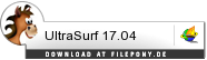 Download UltraSurf bei Filepony.de