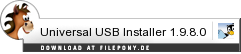 Download Universal USB Installer bei Filepony.de